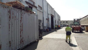 1600m² d'ateliers couverts